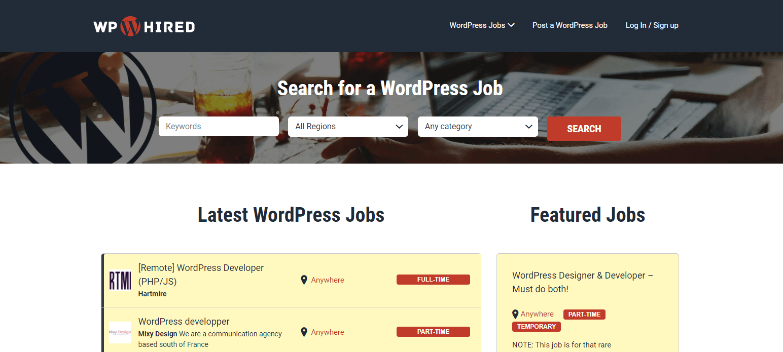 how to get wordpress projects